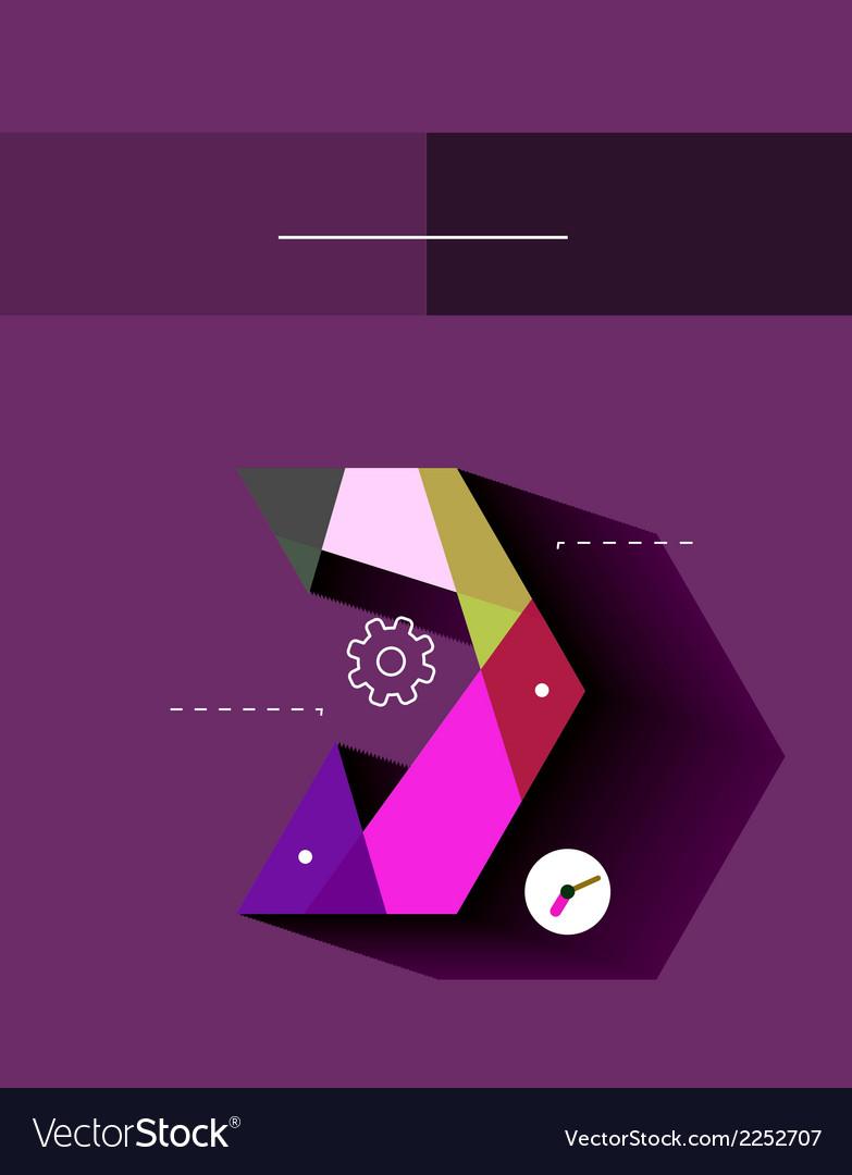 Flat design infographics concept vector   Price: 1 Credit (USD $1)