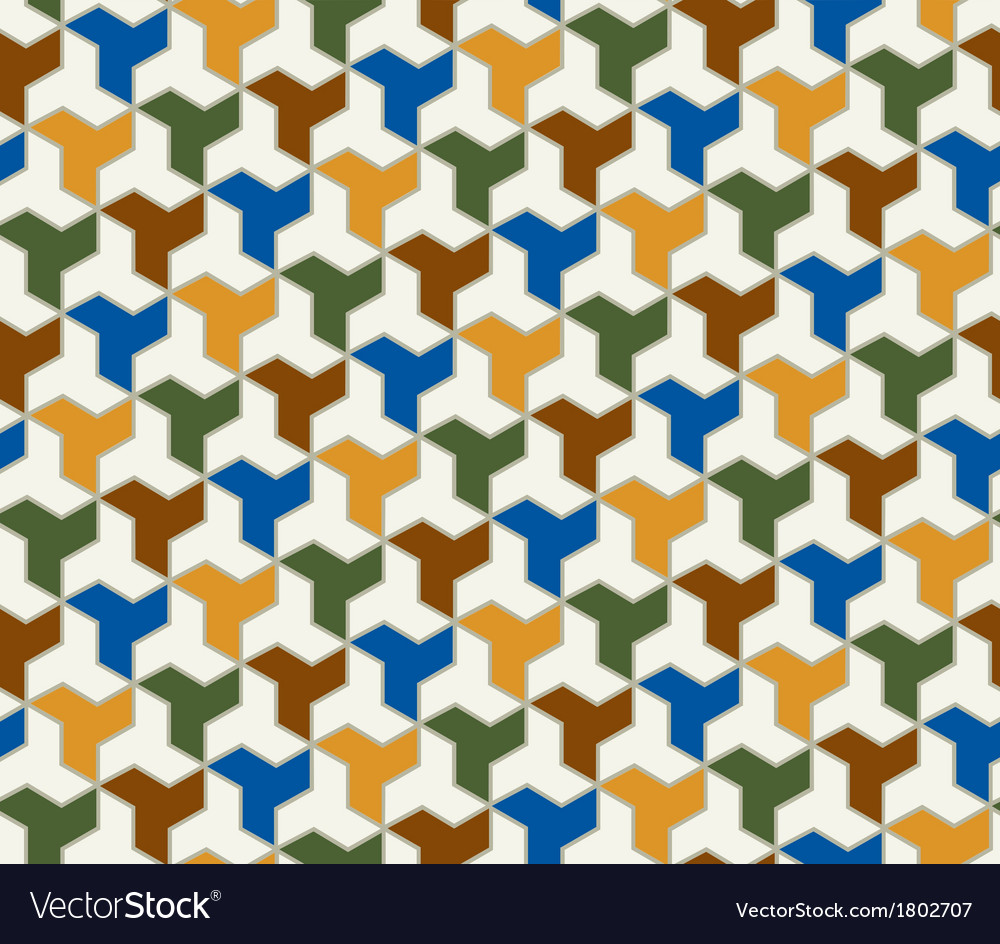 Seamless geometric islamic pattern vector   Price: 1 Credit (USD $1)