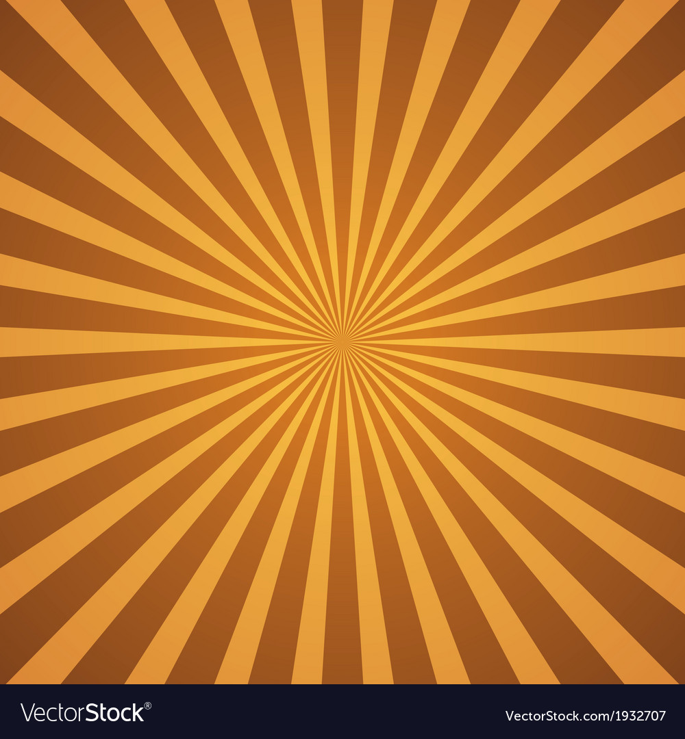Vintage rays background vector | Price: 1 Credit (USD $1)
