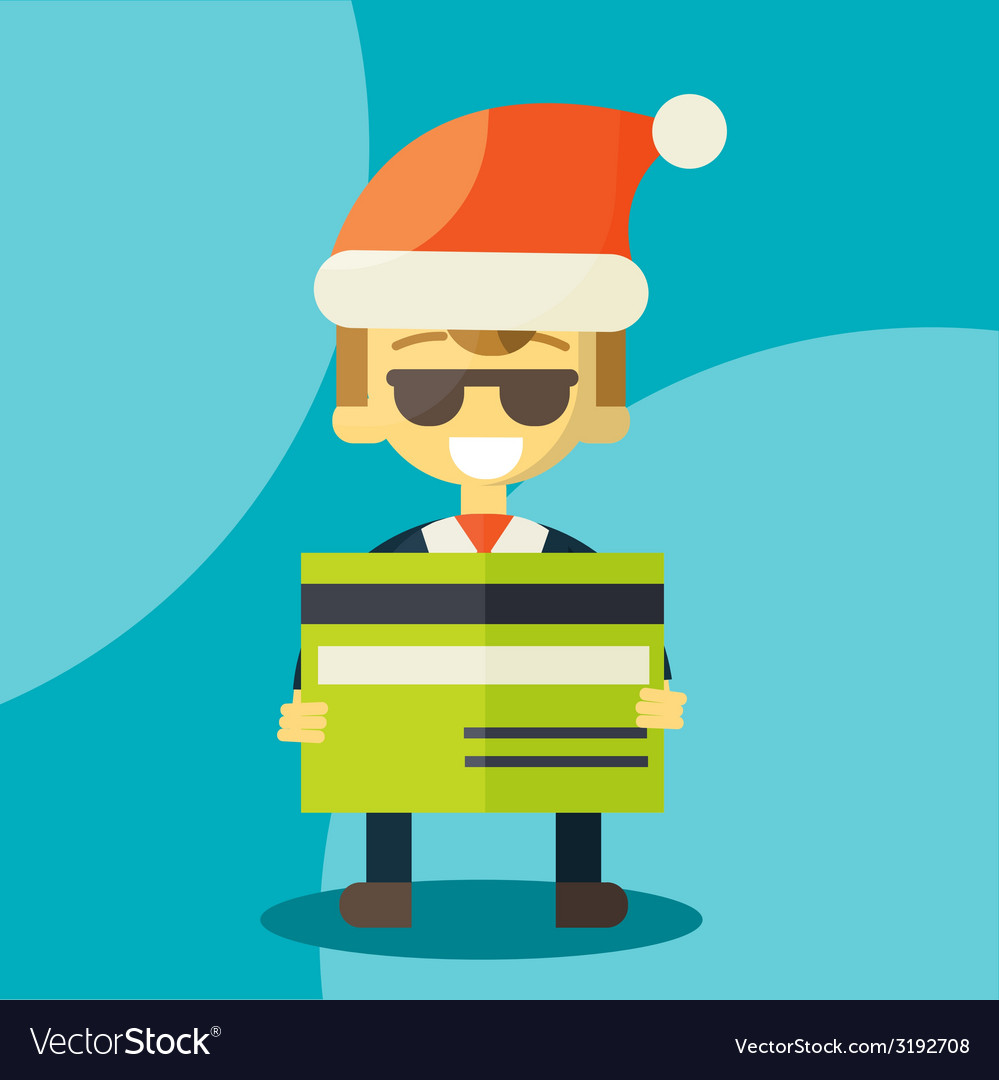 Good credit card vector | Price: 1 Credit (USD $1)