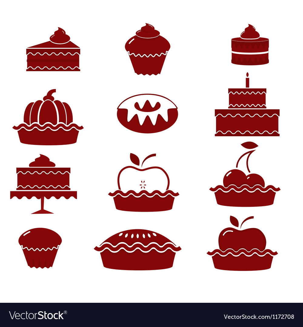 Sweet pastry vector | Price: 1 Credit (USD $1)