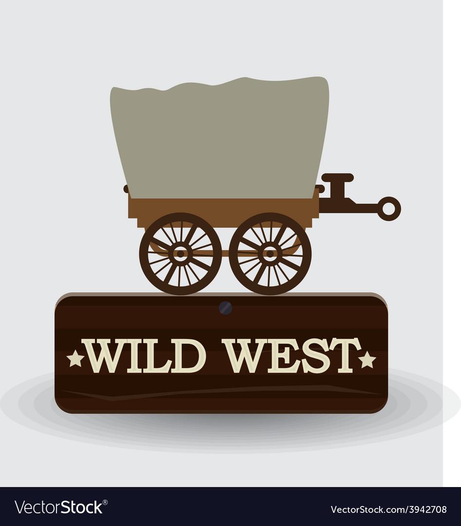 Western design vector | Price: 1 Credit (USD $1)