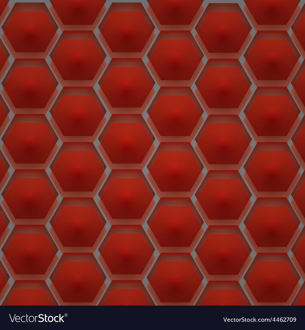 A pattern of hexagons vector | Price: 1 Credit (USD $1)