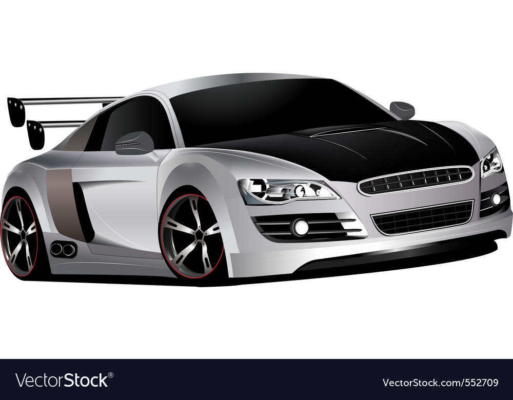 Custom race car vector | Price: 3 Credit (USD $3)