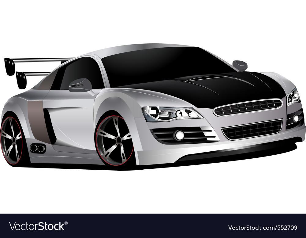 Custom race car vector | Price: 3 Credit (USD $3)