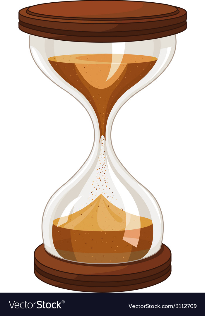Sand clock vector | Price: 1 Credit (USD $1)
