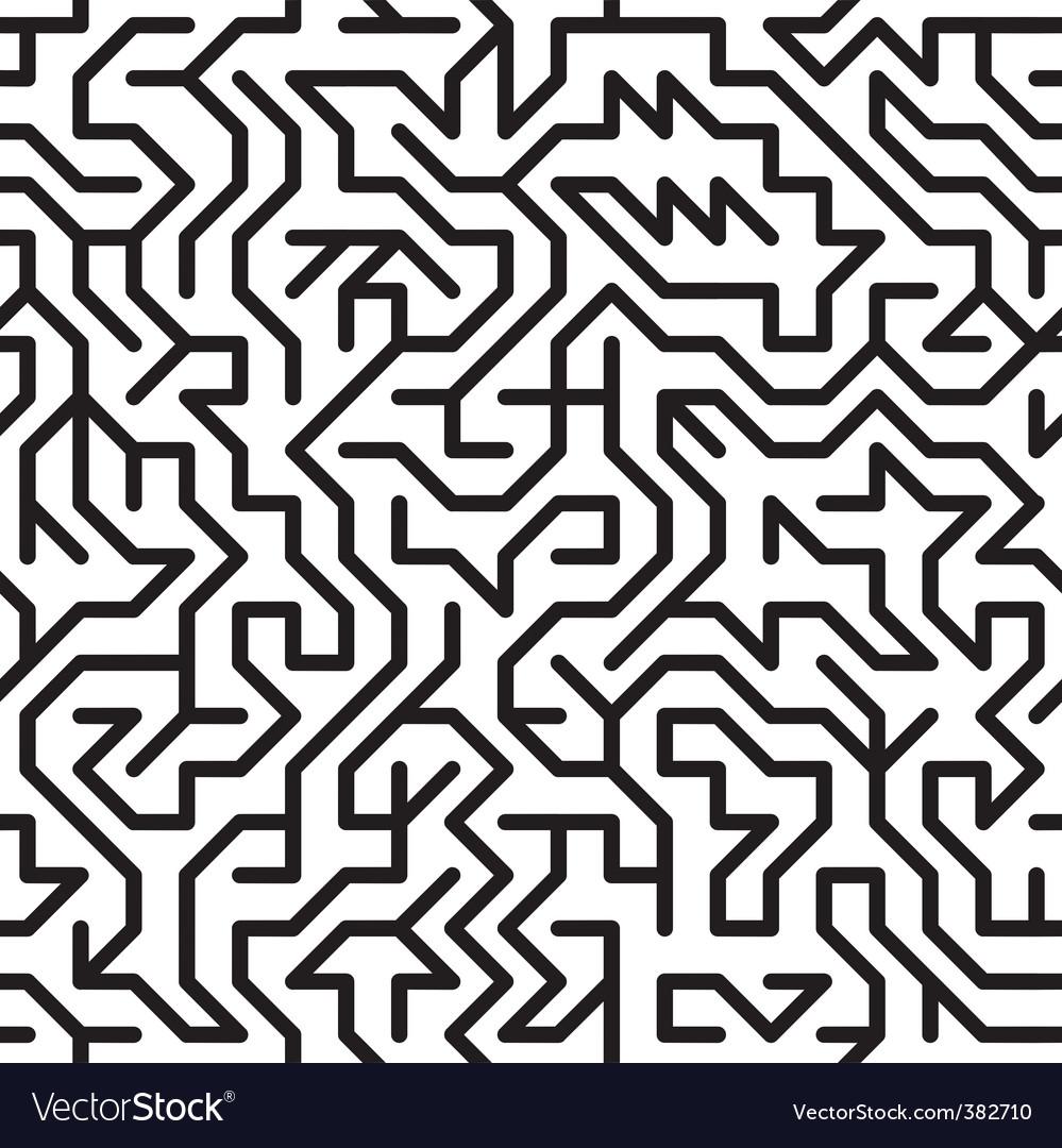 Complex maze vector | Price: 1 Credit (USD $1)