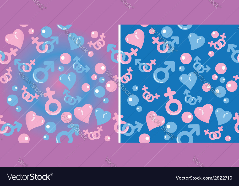 Love gradient pattern vector | Price: 1 Credit (USD $1)