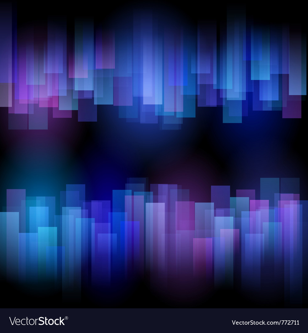 Abstract aurora background vector | Price: 1 Credit (USD $1)