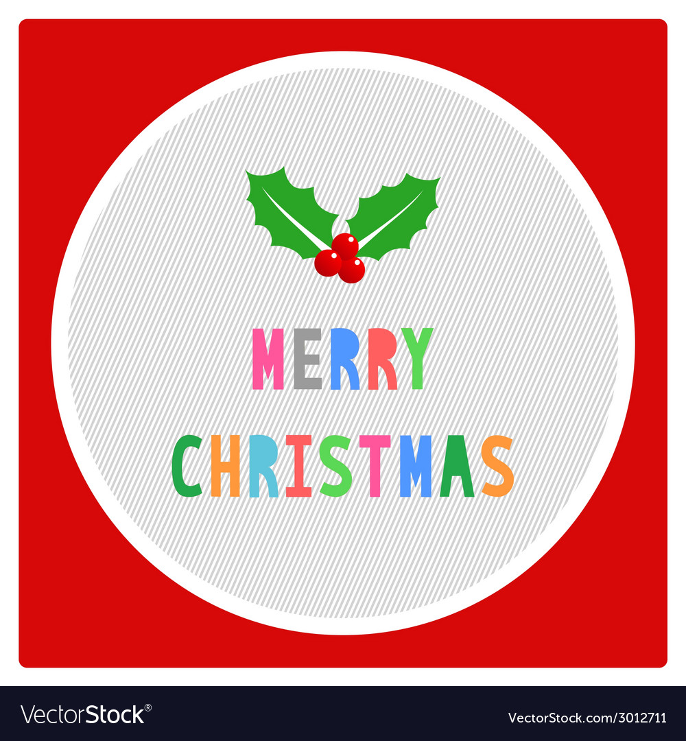 Merry christmas greeting card19 vector   Price: 1 Credit (USD $1)