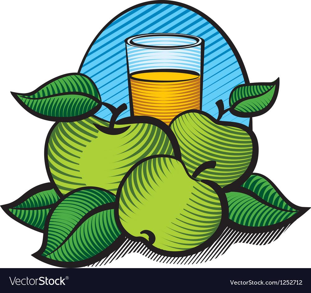 Aplle juice vector | Price: 3 Credit (USD $3)