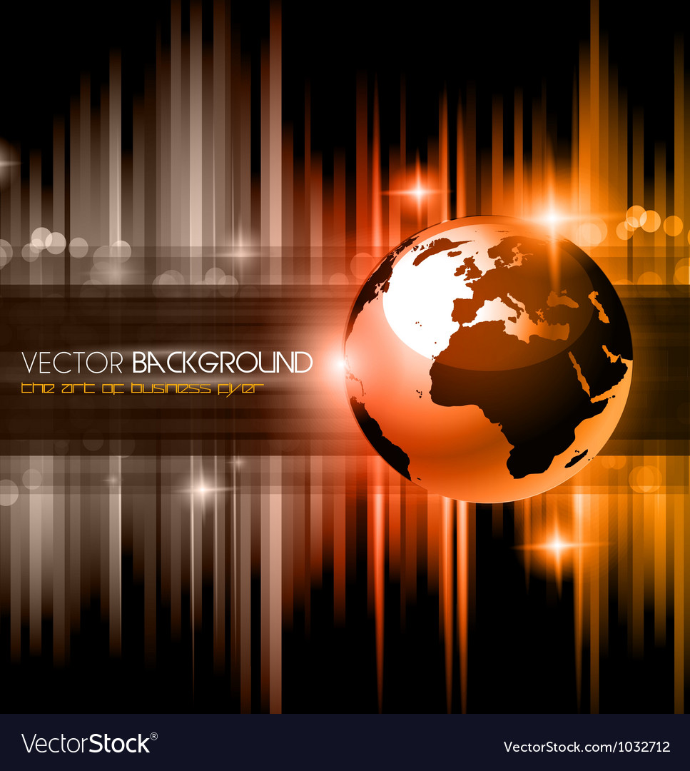 High tech business background vector | Price: 1 Credit (USD $1)
