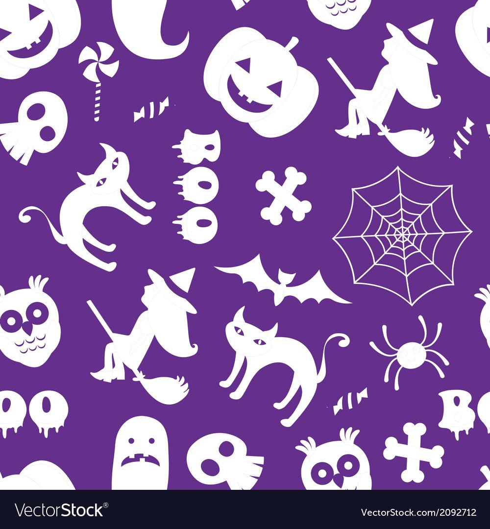 Seamless halloween pattern vector   Price: 1 Credit (USD $1)