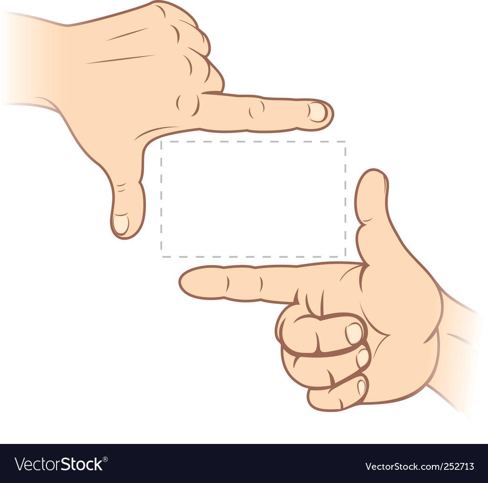 Finger frame vector   Price: 3 Credit (USD $3)