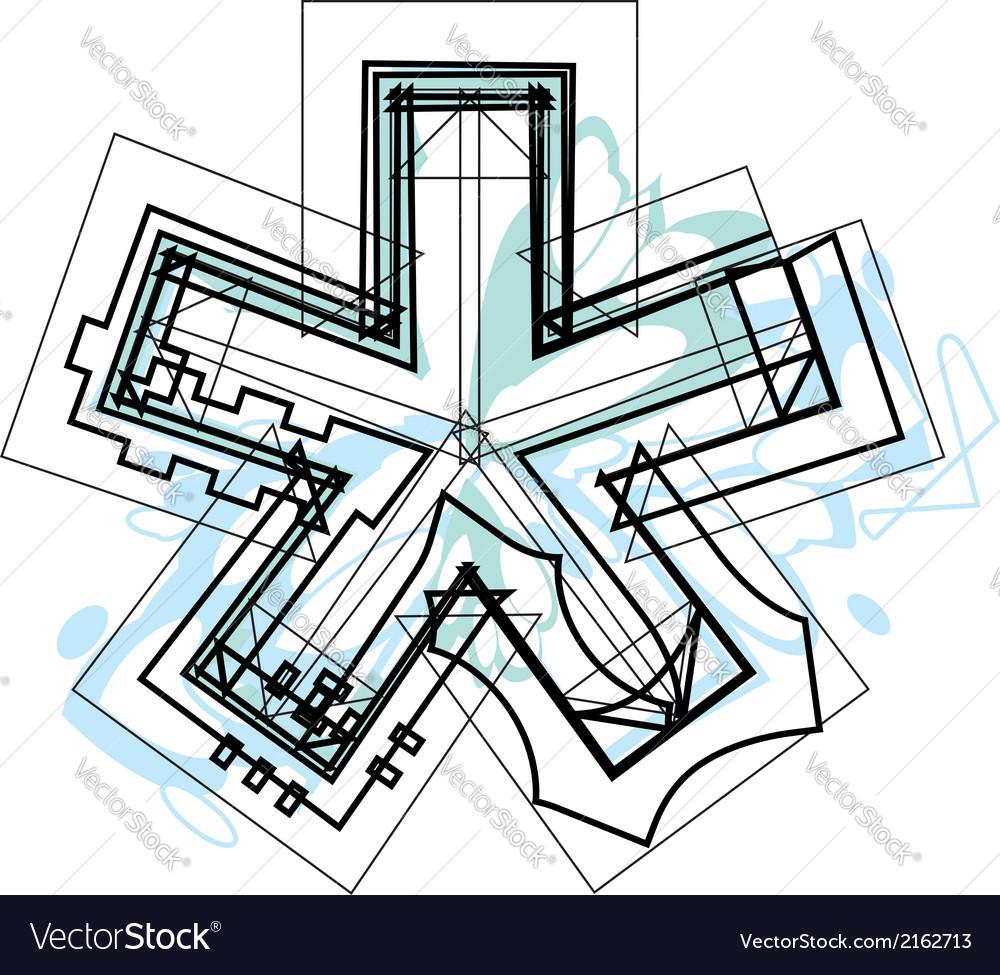 Font symbol vector | Price: 1 Credit (USD $1)