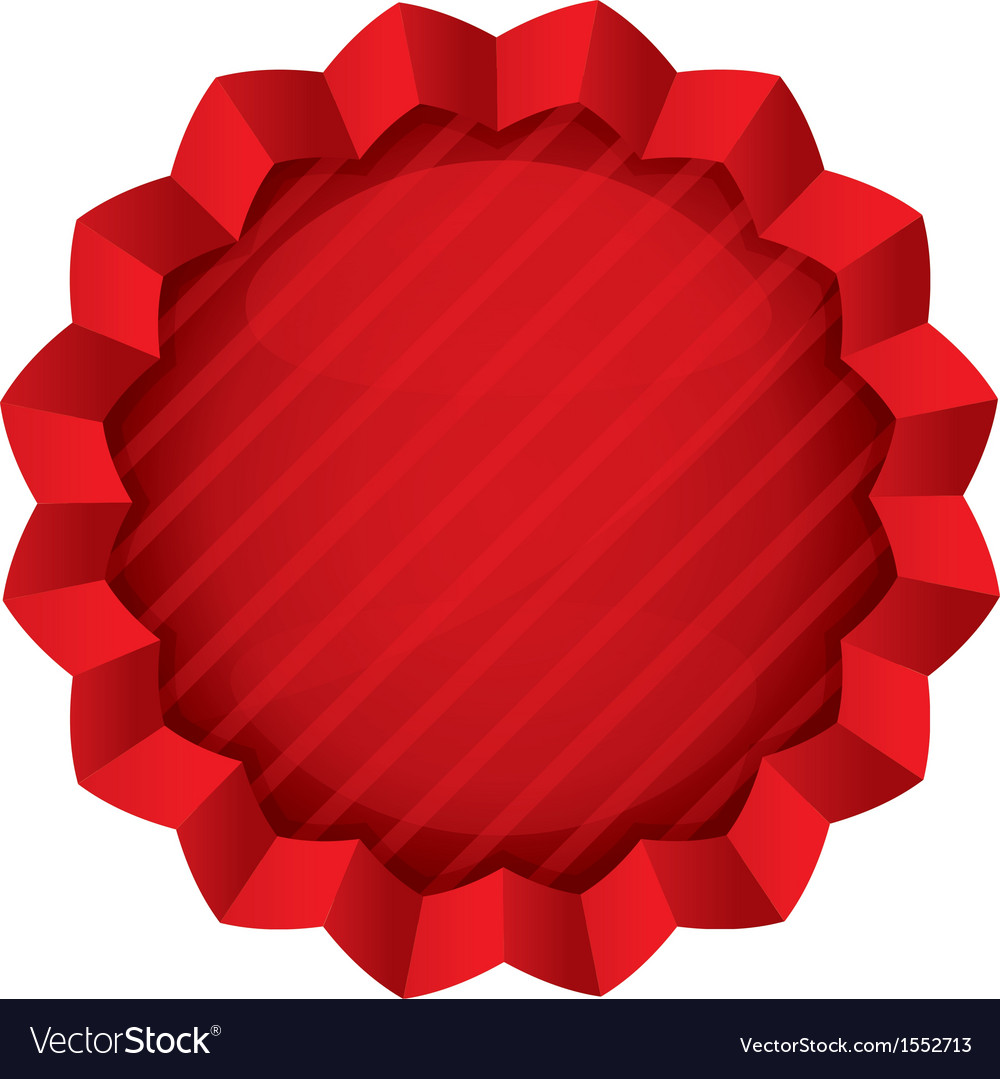 Price tag template red round star sticker vector | Price: 1 Credit (USD $1)