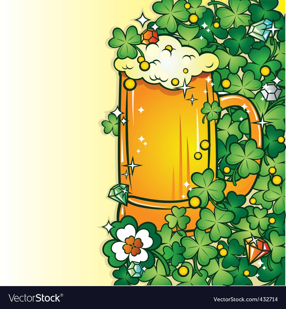 Beer pint vector | Price: 1 Credit (USD $1)