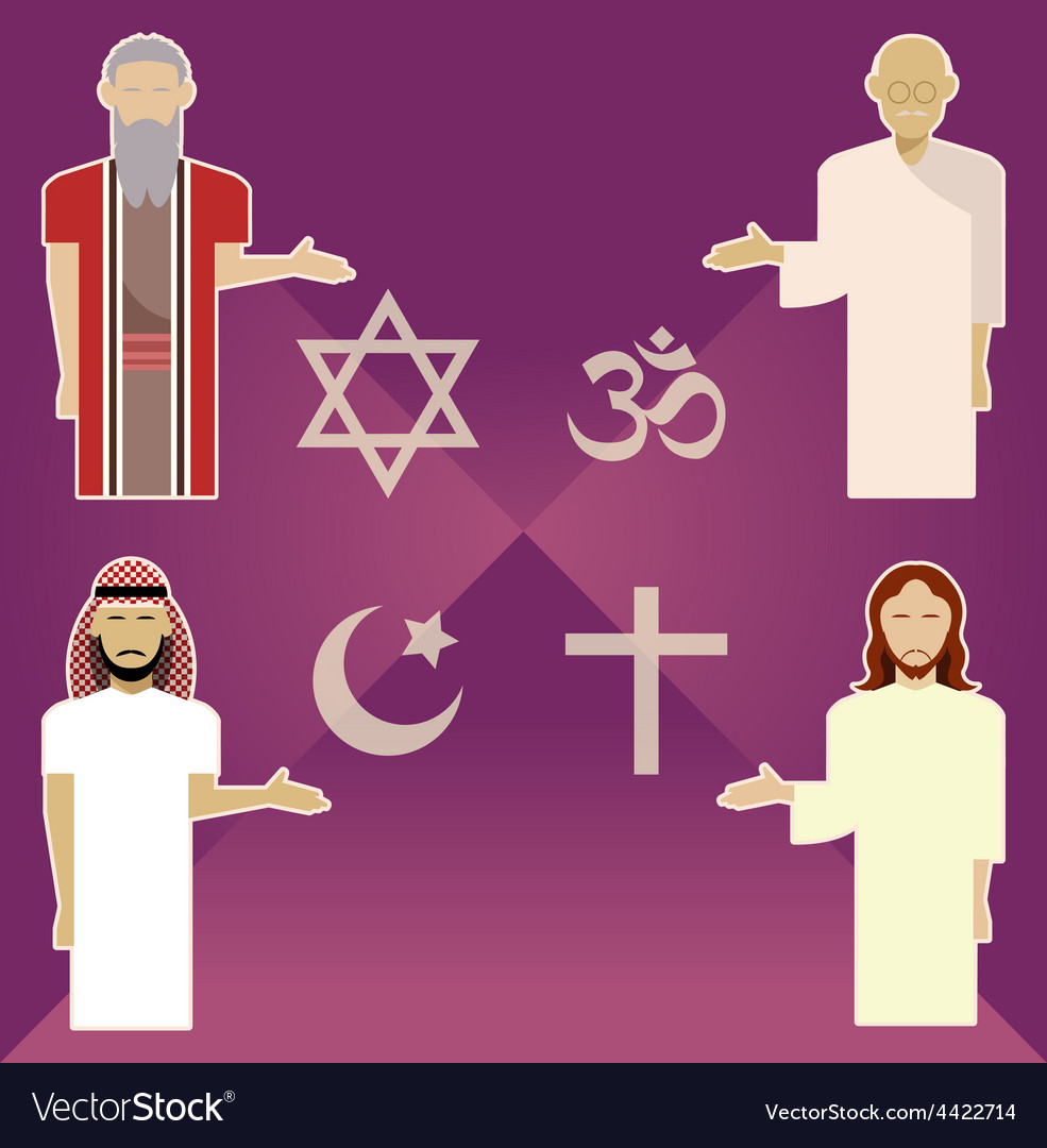 Religions vector | Price: 1 Credit (USD $1)