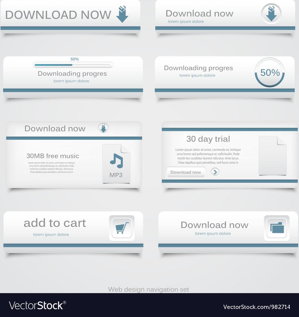 Web design template vector | Price: 1 Credit (USD $1)