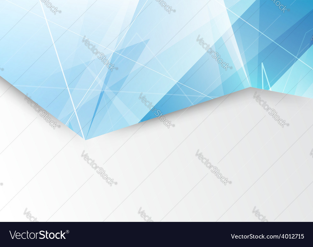 Abstract modern triangle pattern brochure design vector | Price: 1 Credit (USD $1)