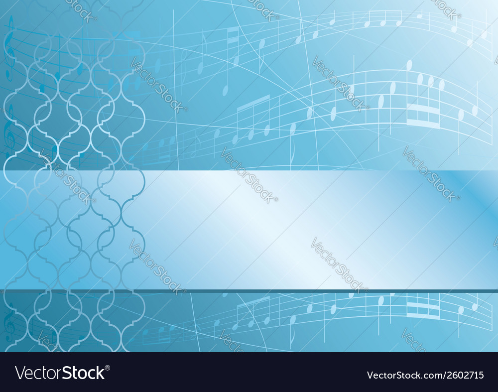 Light blue music background vector | Price: 1 Credit (USD $1)