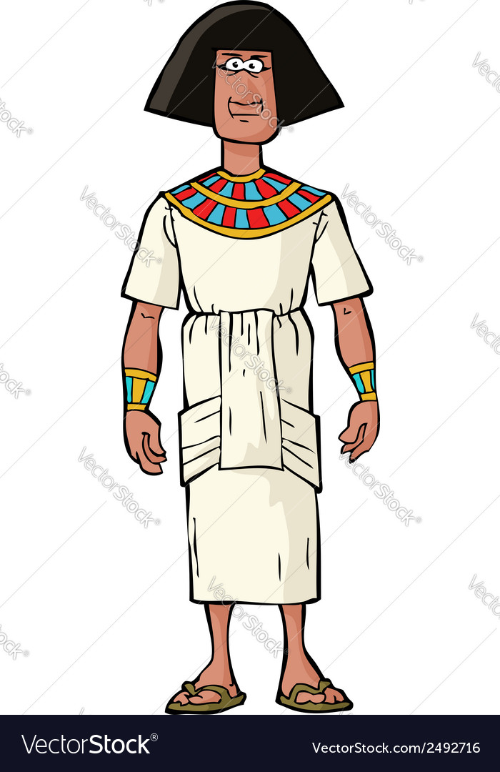 Ancient egyptian nobleman vector | Price: 1 Credit (USD $1)