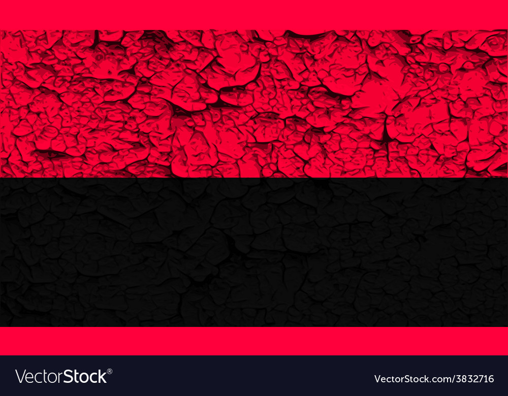 Flag of oun-upa with old texture vector | Price: 1 Credit (USD $1)