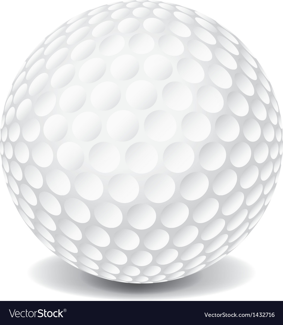 Golf ball vector   Price: 1 Credit (USD $1)