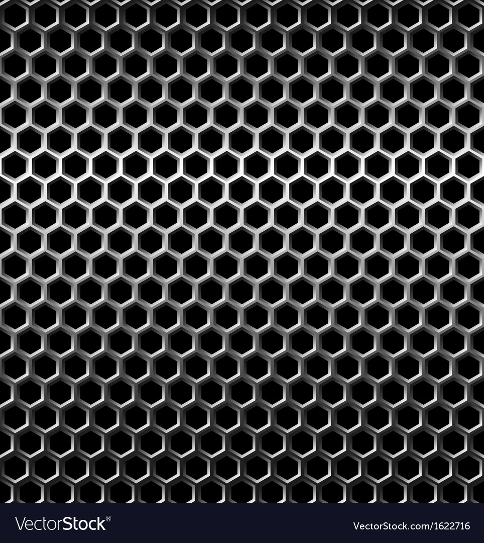 Seamless texture metal grid background vector | Price: 1 Credit (USD $1)