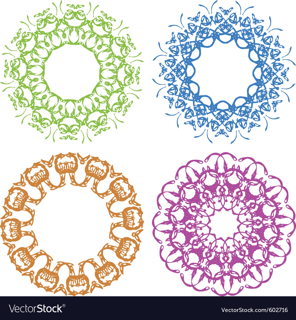 Set of border vector | Price: 1 Credit (USD $1)
