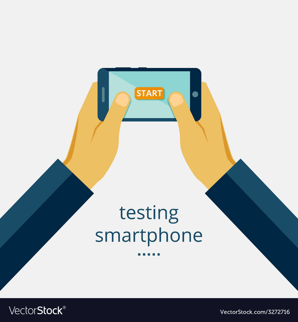 Smartphone testing vector | Price: 1 Credit (USD $1)