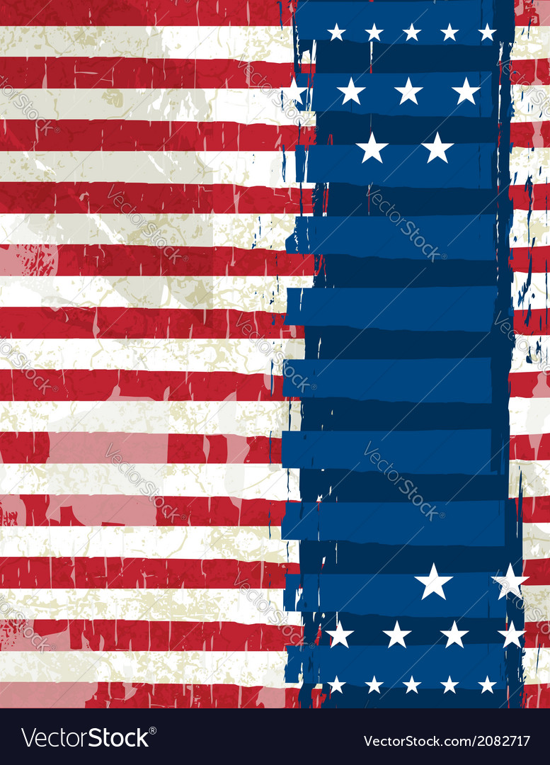 Abstract usa background vector | Price: 1 Credit (USD $1)
