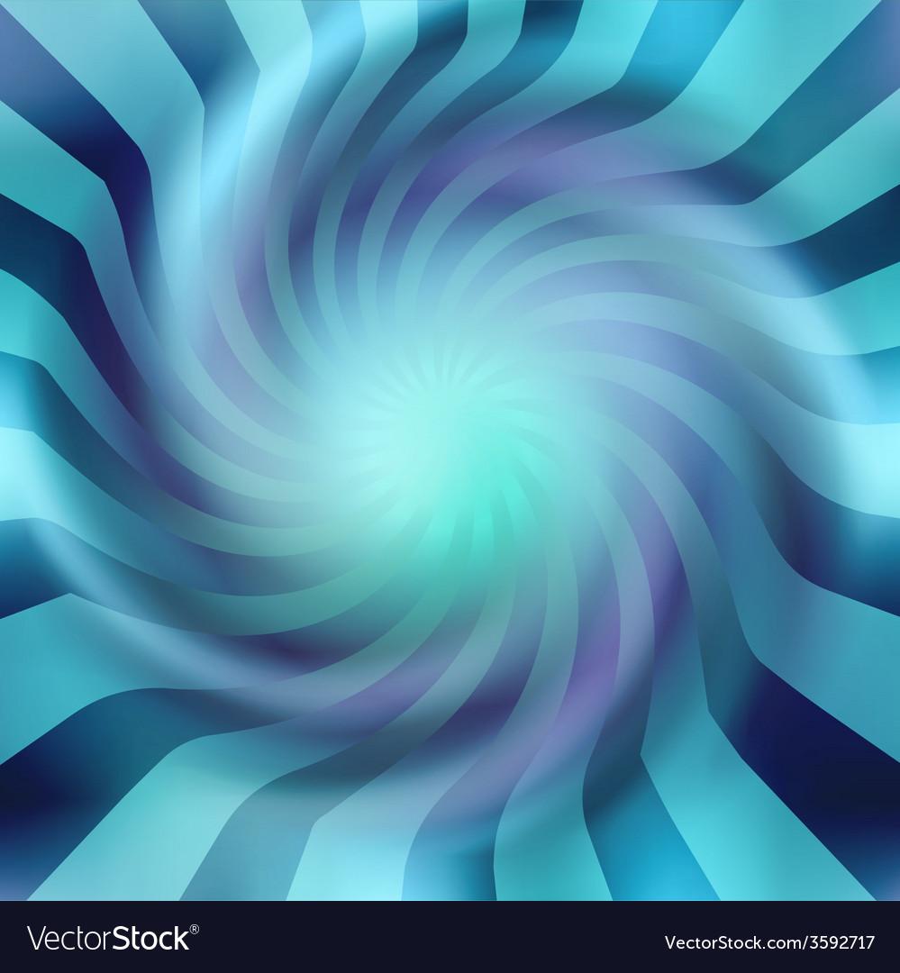 Blue background spiral vector | Price: 1 Credit (USD $1)