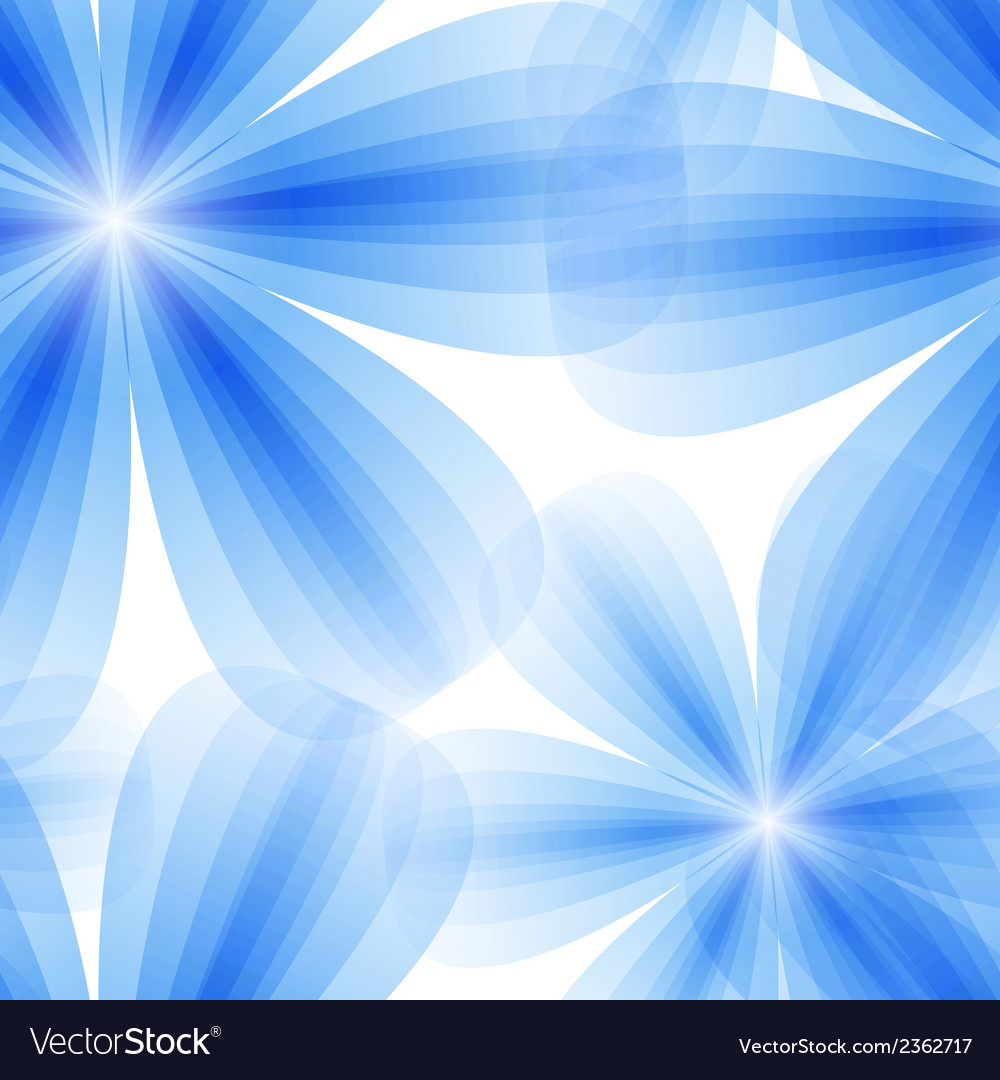 Blue floral seamless background vector | Price: 1 Credit (USD $1)