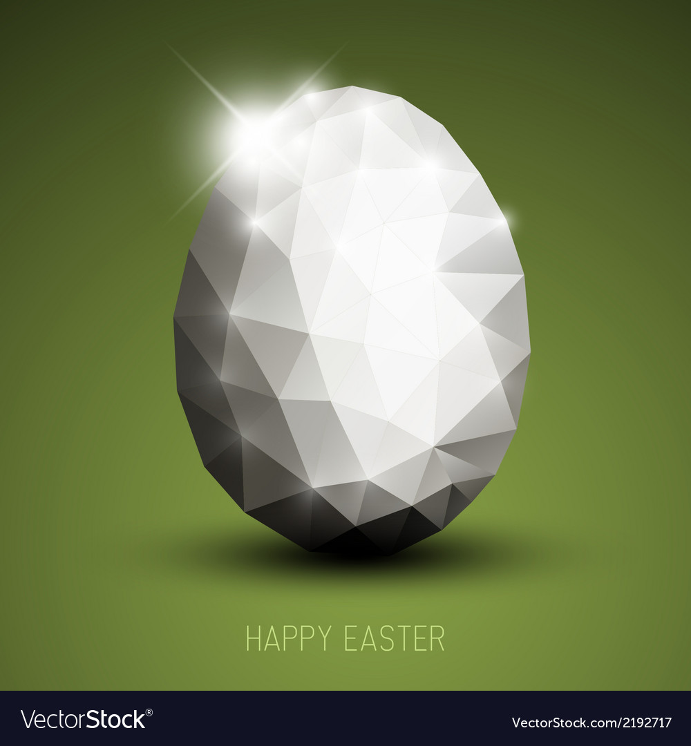Modern easter egg vector | Price: 1 Credit (USD $1)