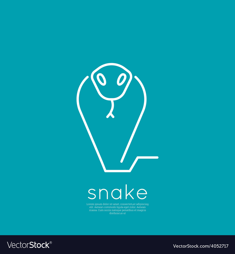 The symbol of the snake vector | Price: 1 Credit (USD $1)