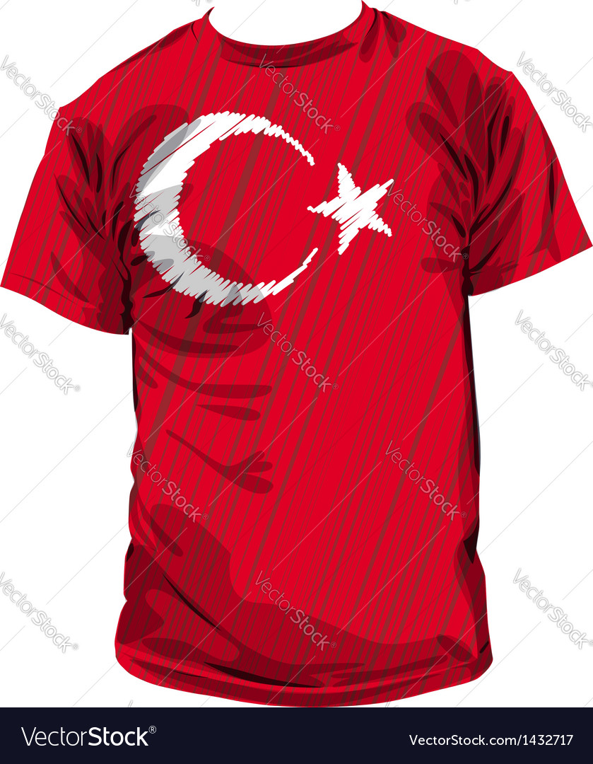 Turkish tee vector | Price: 1 Credit (USD $1)