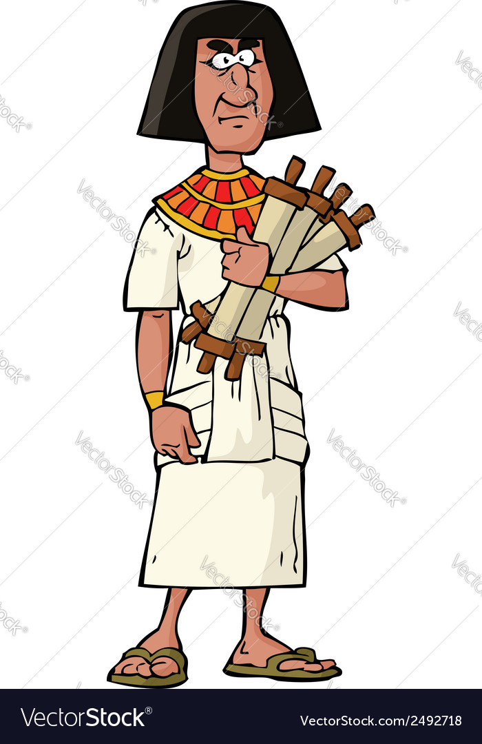 Ancient egyptian official vector | Price: 1 Credit (USD $1)