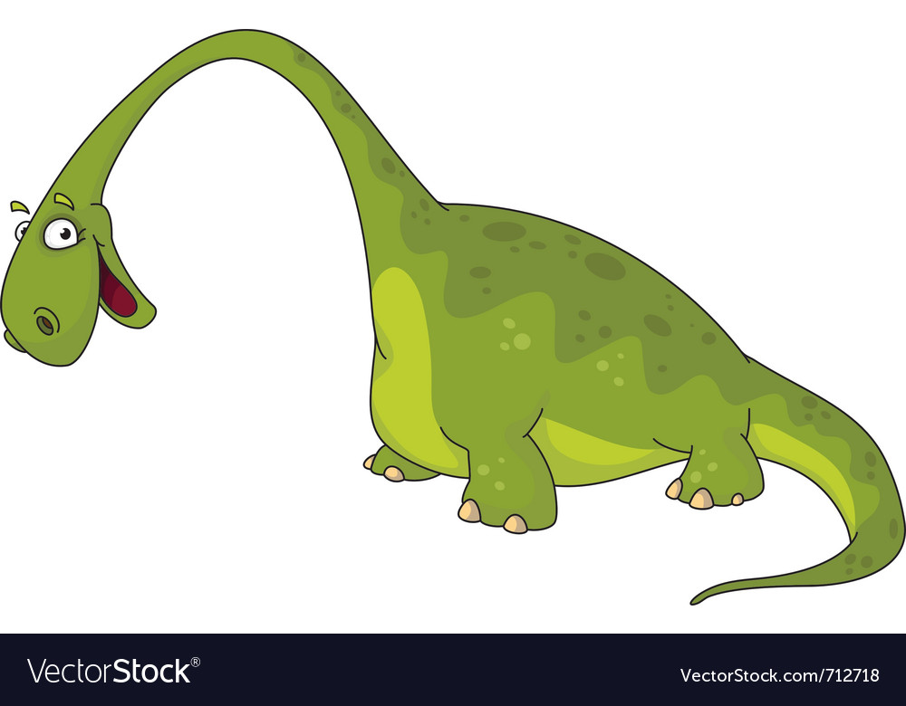 Big dinosaur vector | Price: 1 Credit (USD $1)