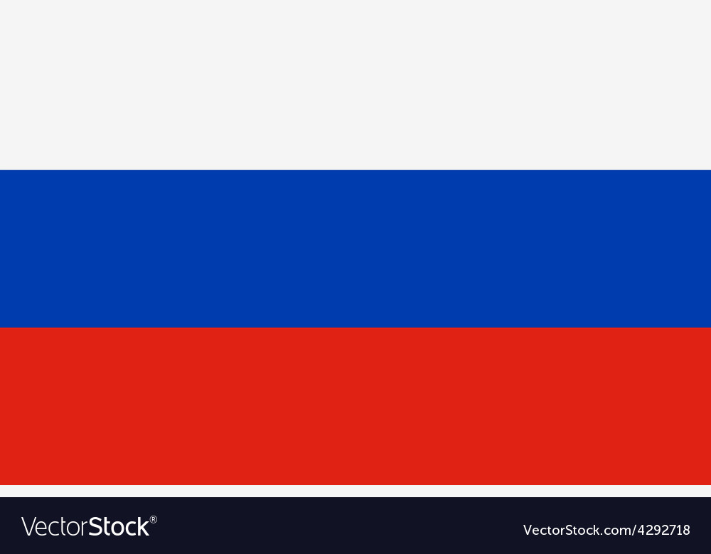Flag of russian federation vector | Price: 1 Credit (USD $1)