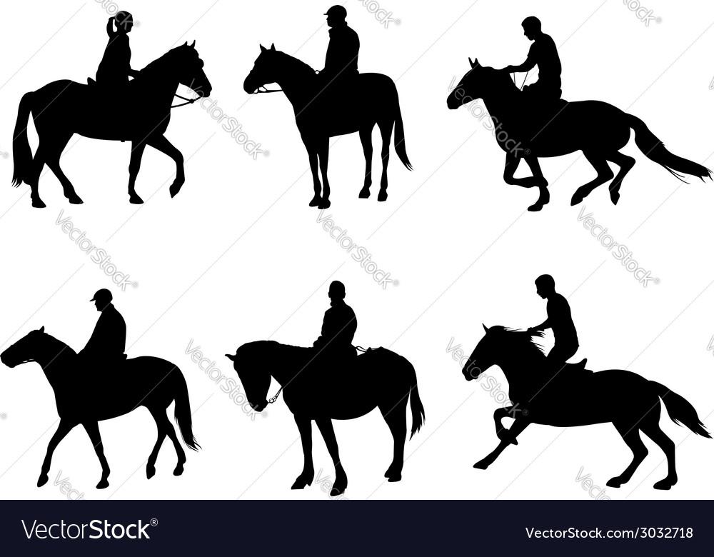 Horsemen vector | Price: 1 Credit (USD $1)