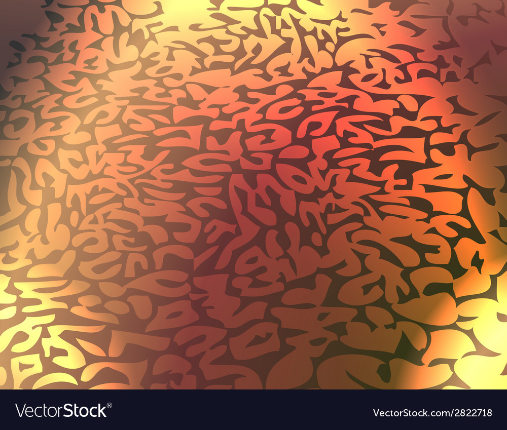 Leopard pattern repeating background vector | Price: 1 Credit (USD $1)