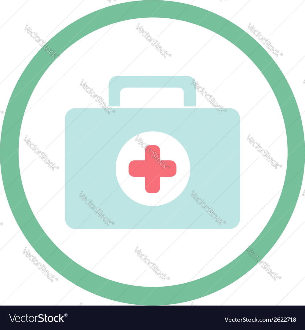 Medical suitcase vector | Price: 1 Credit (USD $1)