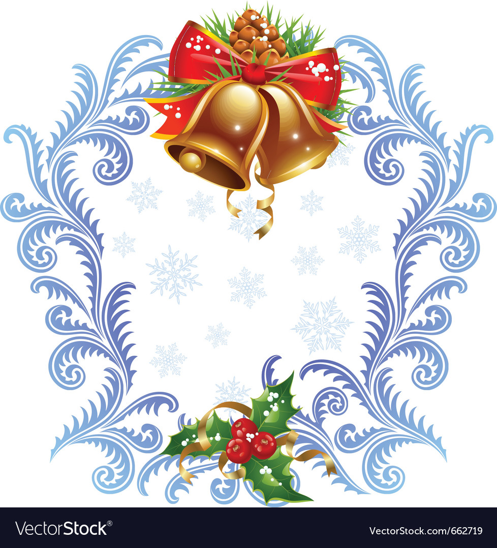 Christmas and new year greeting card vector | Price: 1 Credit (USD $1)