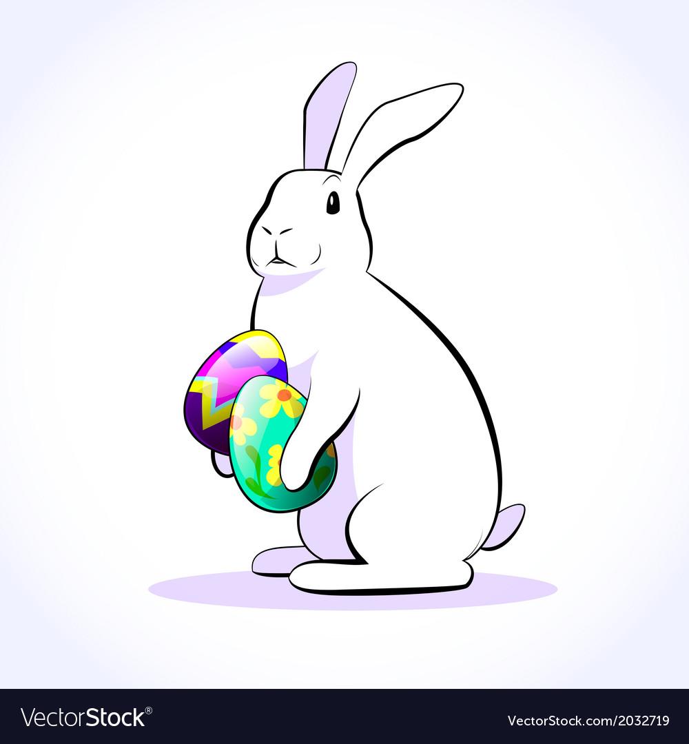 Rabbit easter 2 vector   Price: 1 Credit (USD $1)