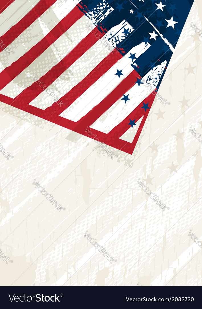 Grunge usa background vector | Price: 1 Credit (USD $1)