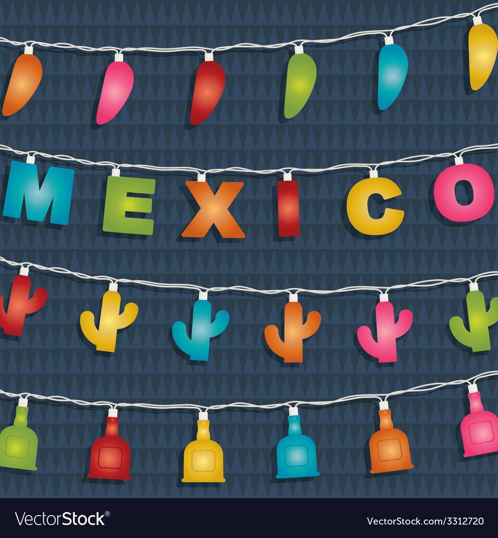 Mexican decoration vector | Price: 1 Credit (USD $1)
