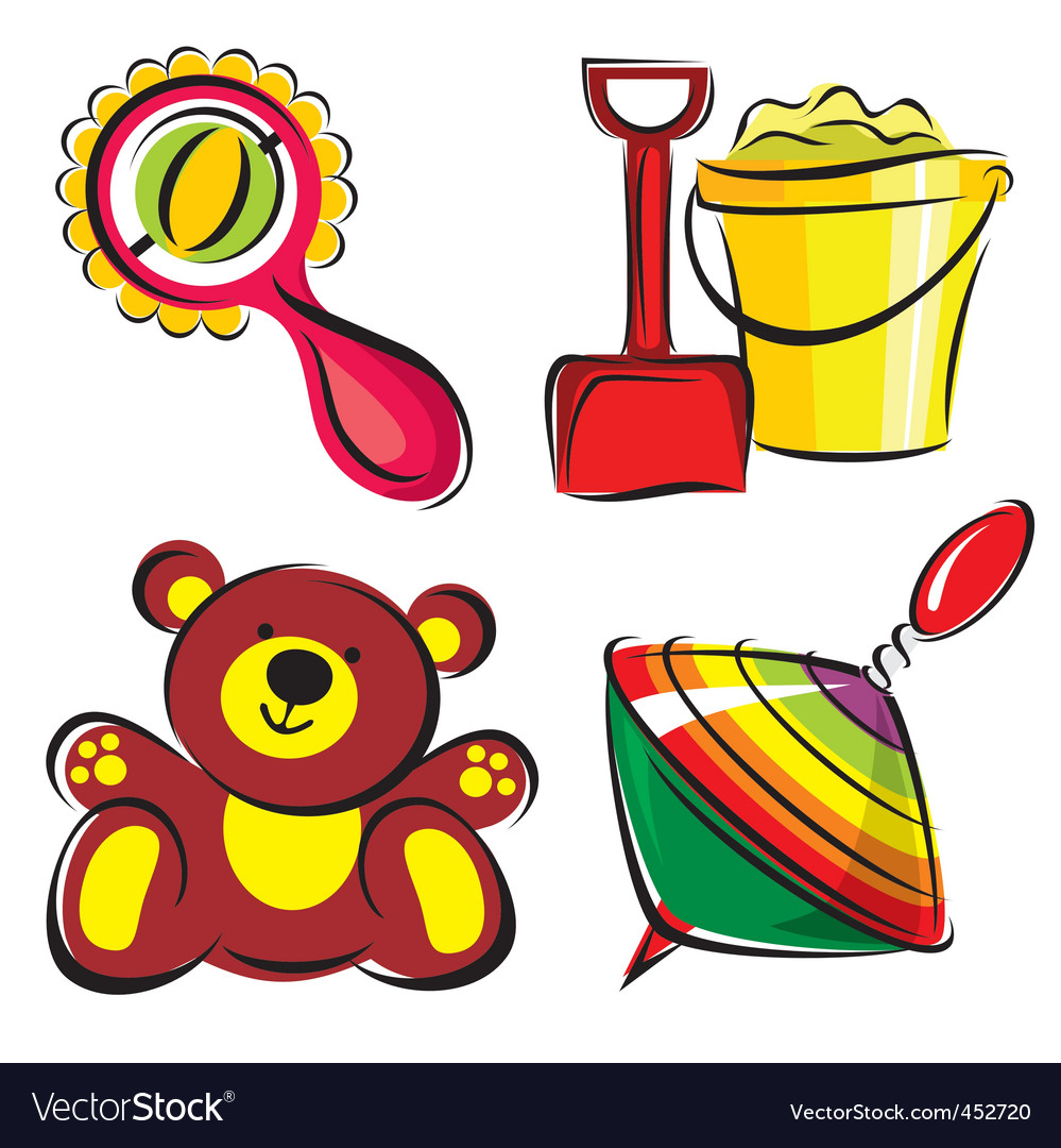 Toys vector | Price: 1 Credit (USD $1)