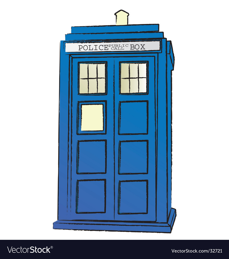 The tardis vector | Price: 1 Credit (USD $1)