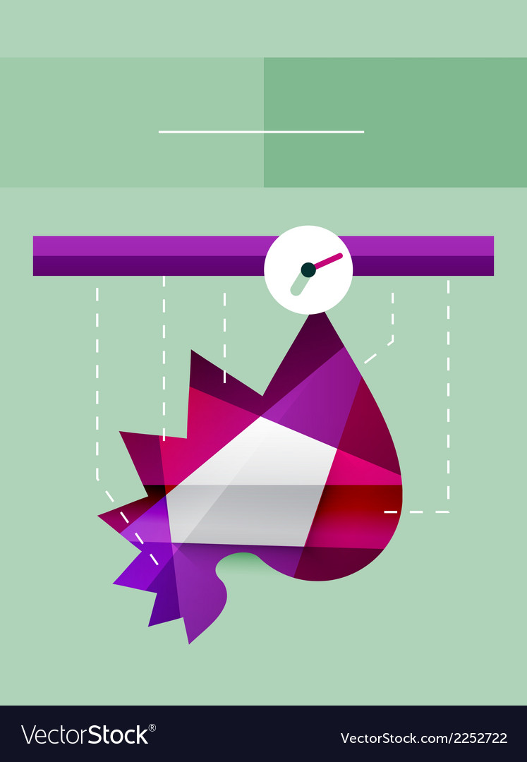 Flat design infographics concept vector | Price: 1 Credit (USD $1)